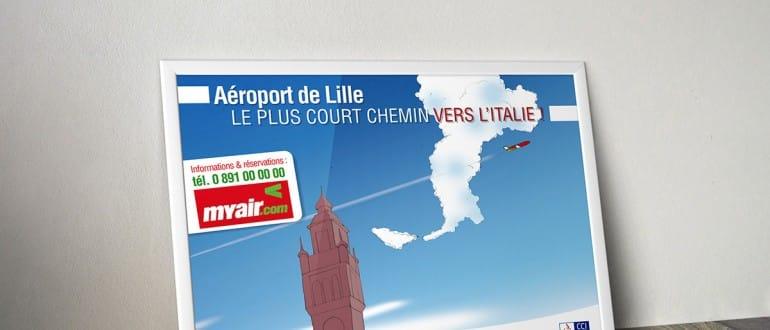 AéroportdeLille|StudioZAV XavierFOULON|DesignerGraphiqueDirecteurArtistiqueWedesignerGraphisteFreelance|Lille Lens Douai(NordPas de Calais)